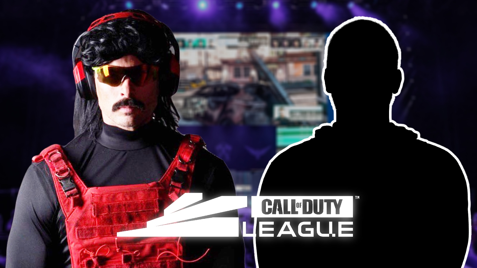 Dr Disrespect sign player Call of Duty League team
