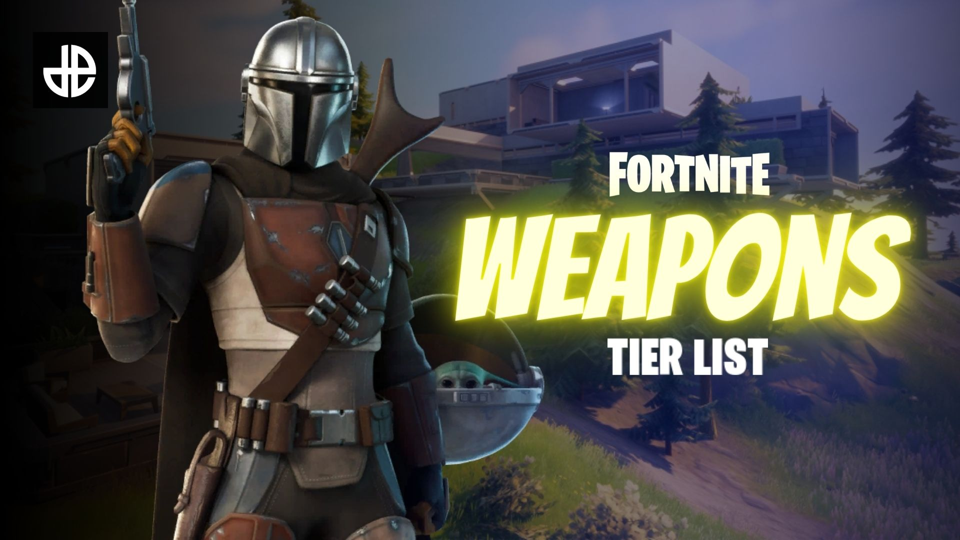 Fortnite weapons tier list image