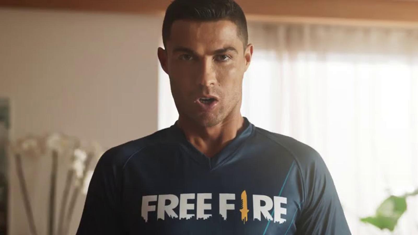 Cristiano Ronaldo Garena Free Fire