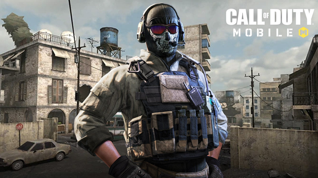 Ghost in CoD mobile and the Crossfire map