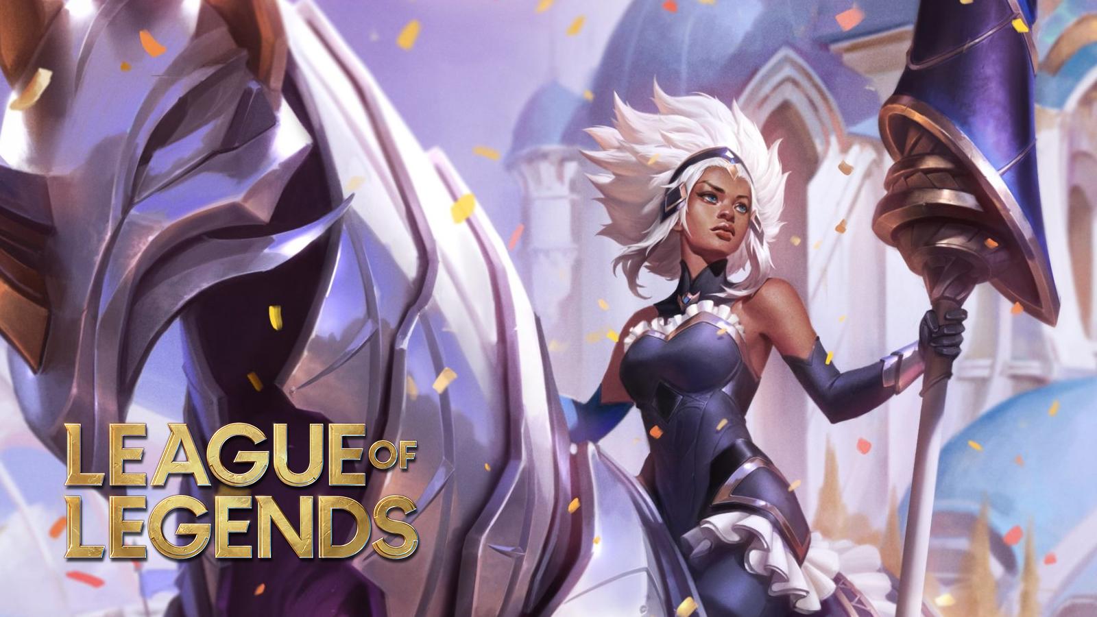 Battle Queen Rell in League of Legends