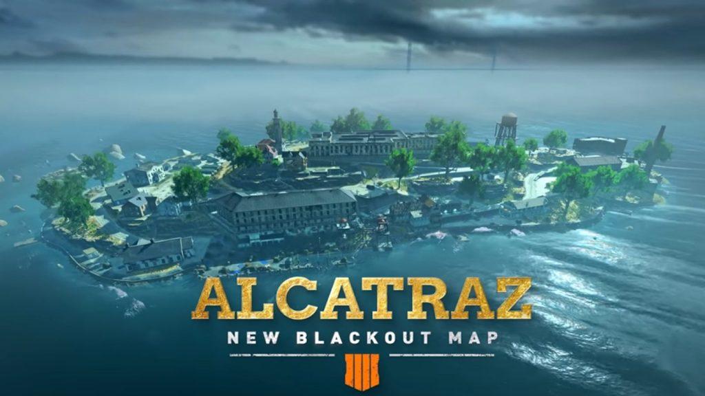 Blackout Alcatraz map