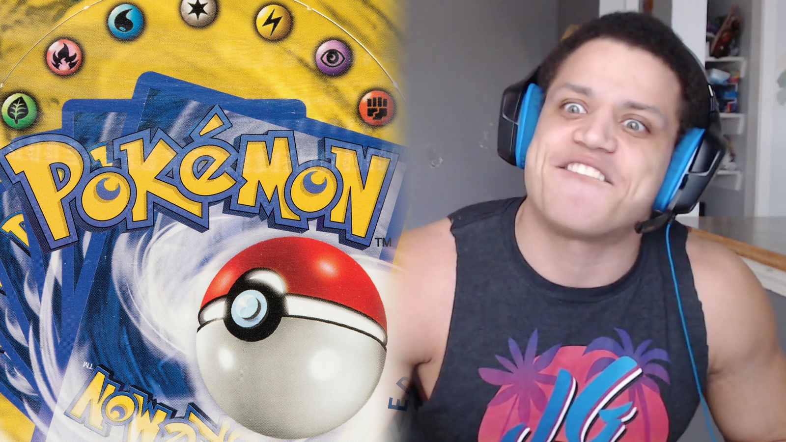 Tyler 1 rages over Pokemon cards