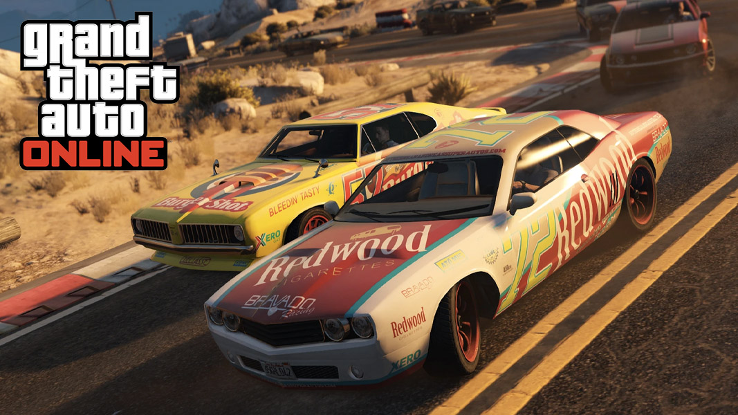 GTA online stock cars racing
