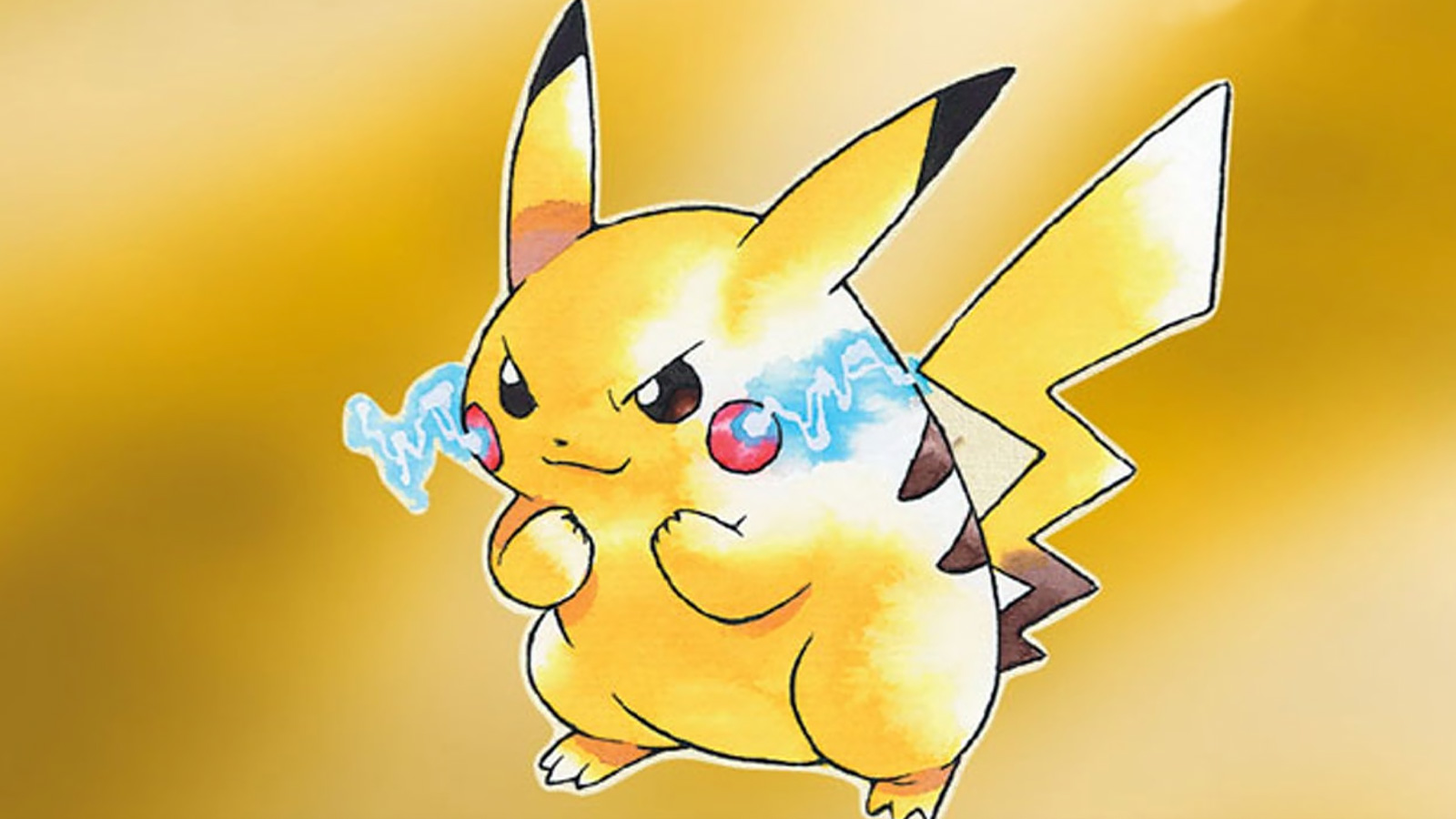 Pikachu promotion for Pokemon Yellow 1998.