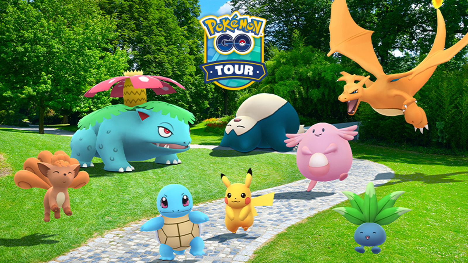 Pokemon GO Tour: Kanto