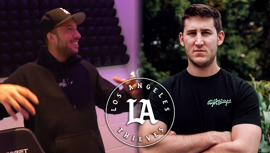 Mike Majlak with JKap and 100 Thieves