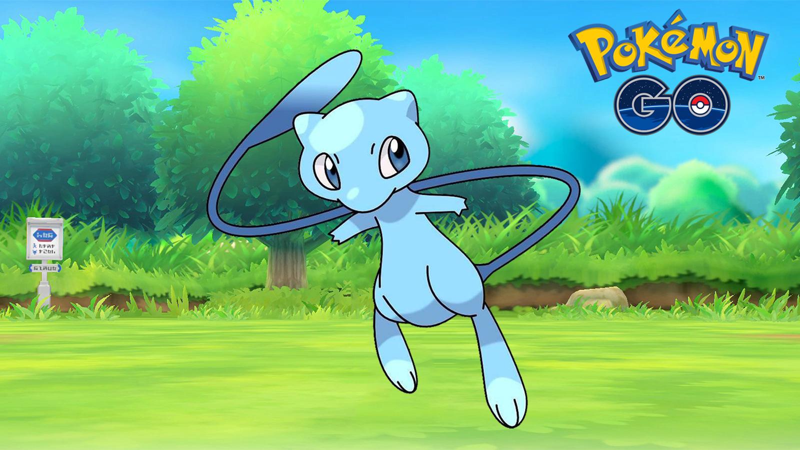 Shiny Mew in Pokemon GO