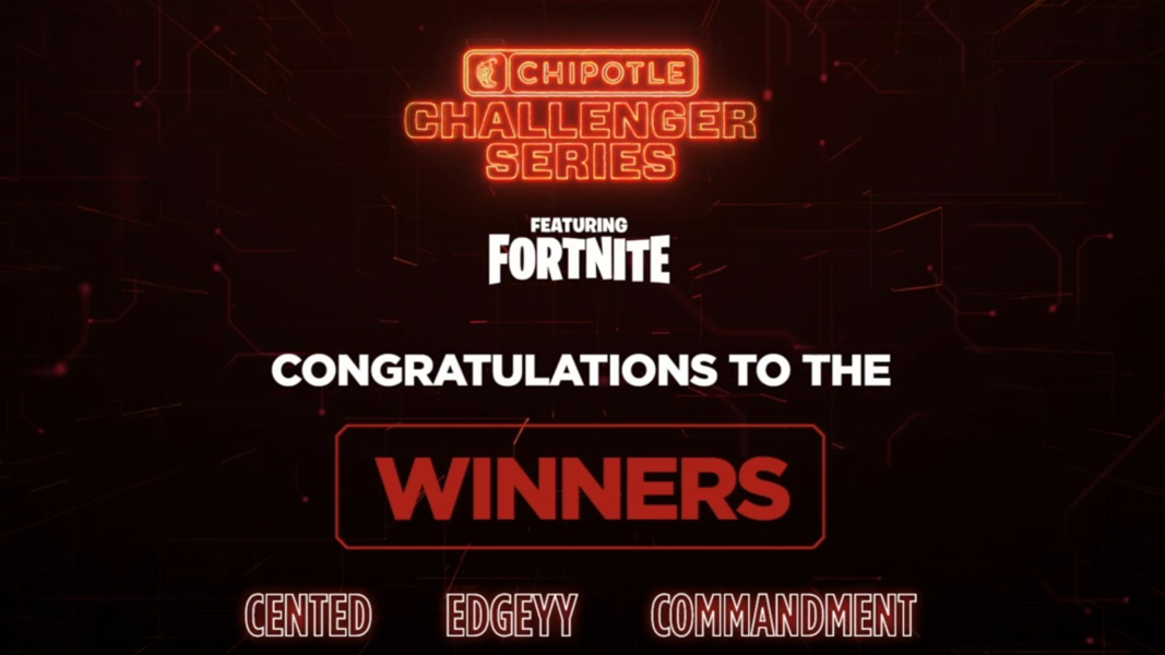 Chipotle Challenger Series December Results