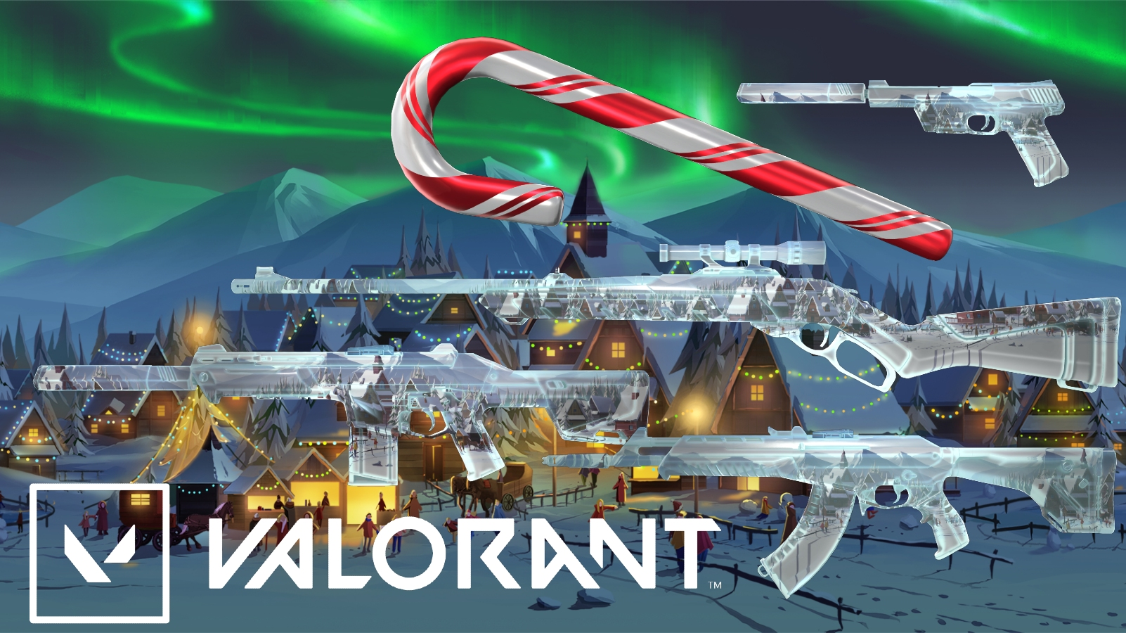 Valorant Winter Wonderland Skins