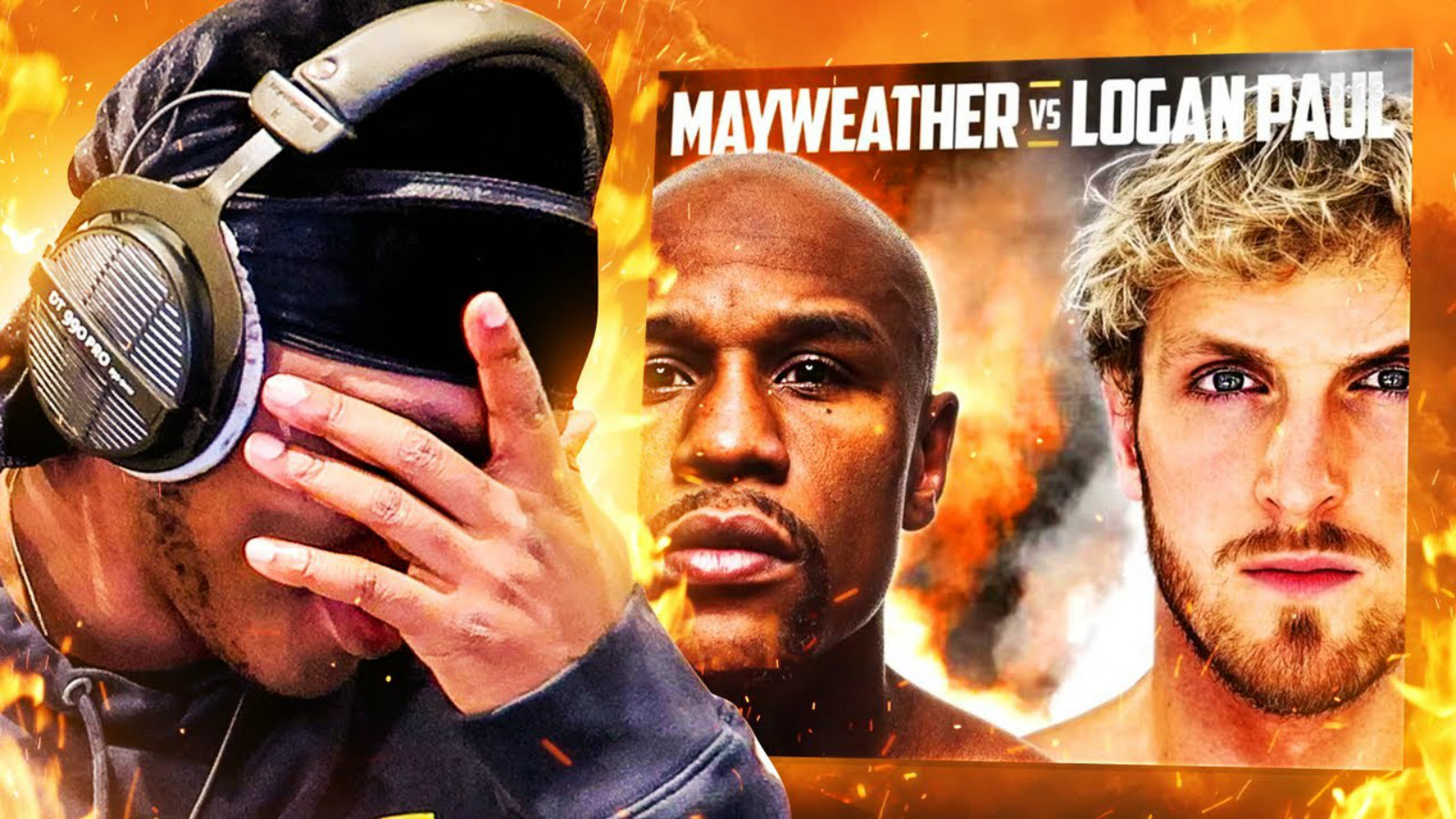 KSI on the Logan Paul Mayweather fight