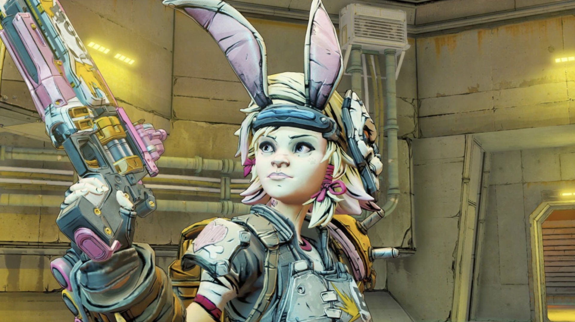 Screenshot of Tiny Tina in Borderlands 3.