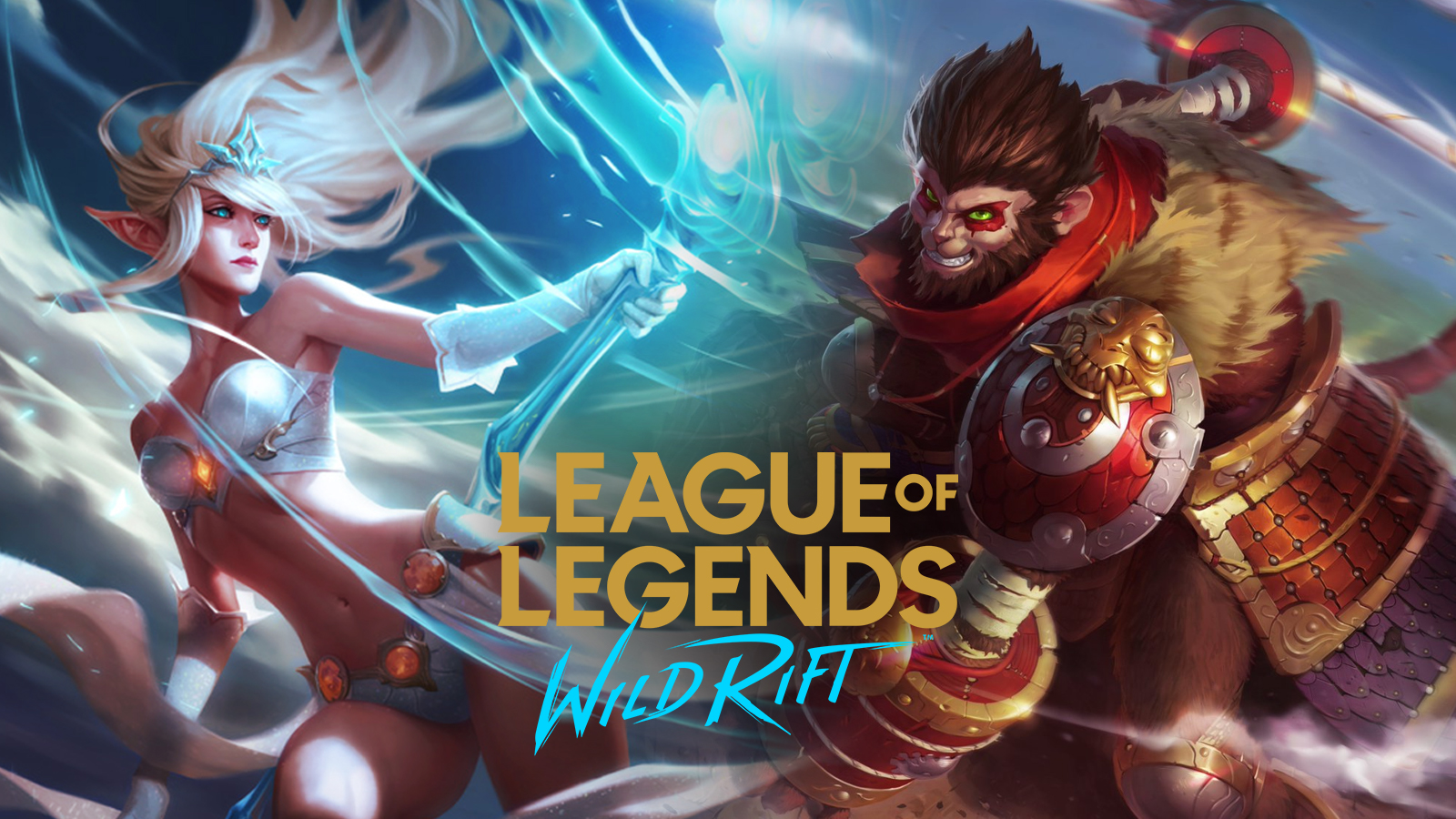 Janna and Wukong in Wild Rift