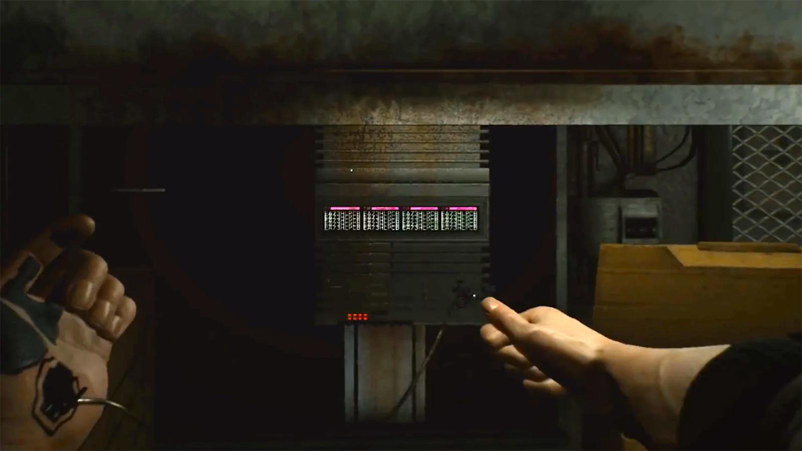 Cyberpunk 2077 hacking access point