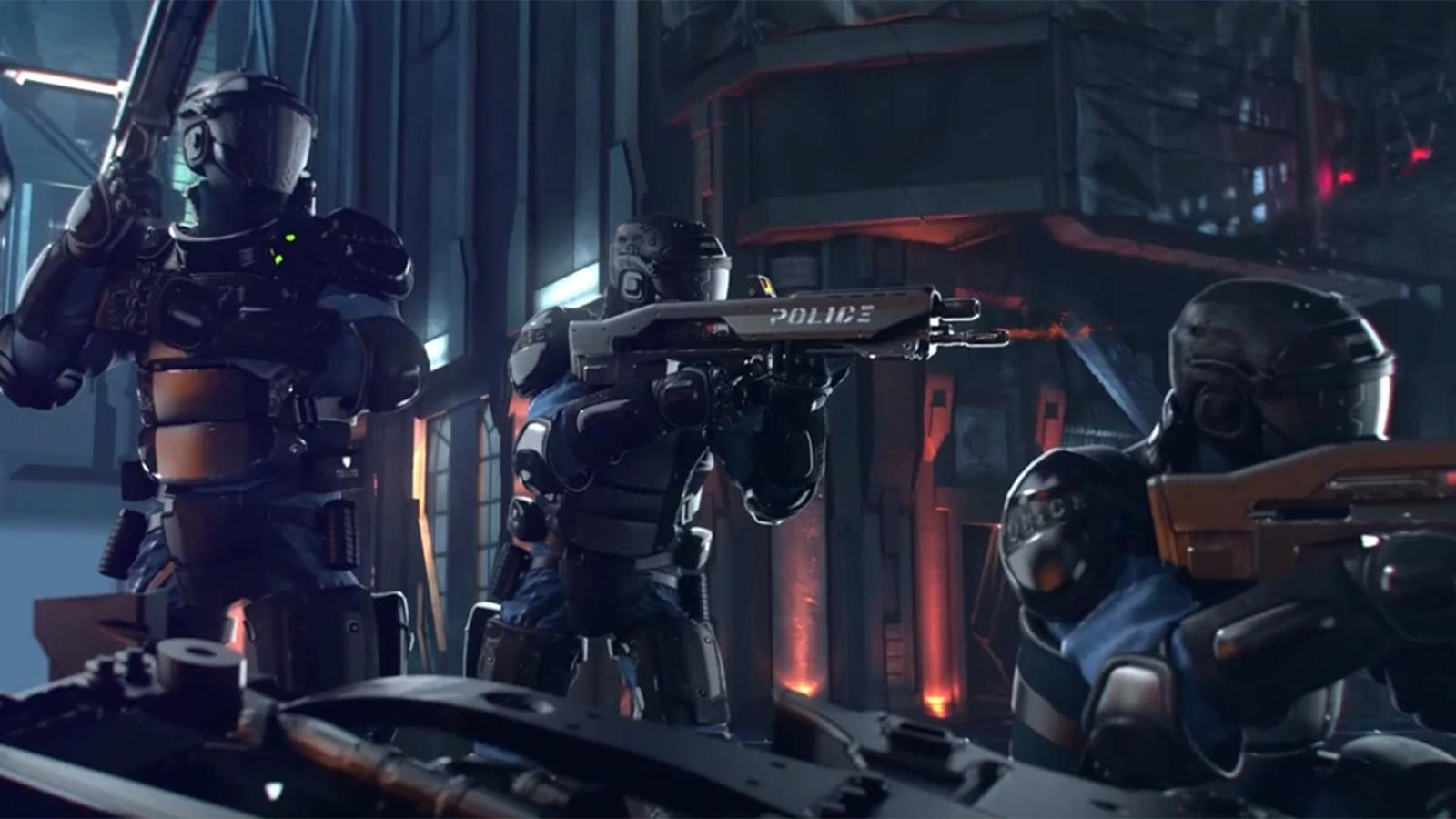 Cyberpunk 2077 NCPD