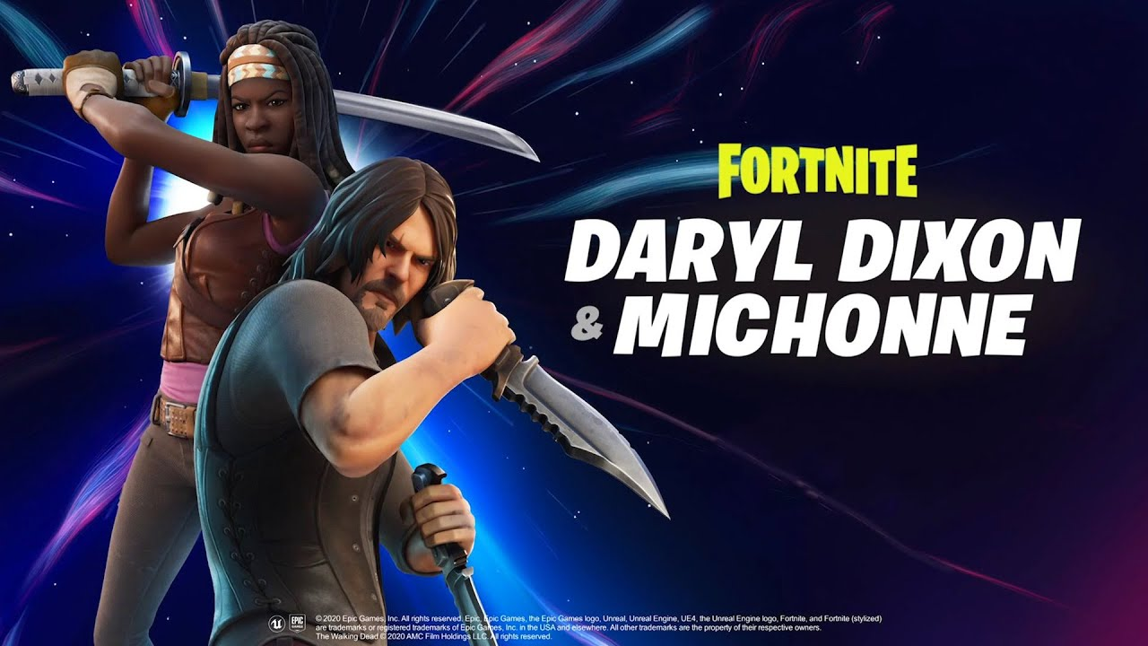 fortnite walking dead crossover reveal