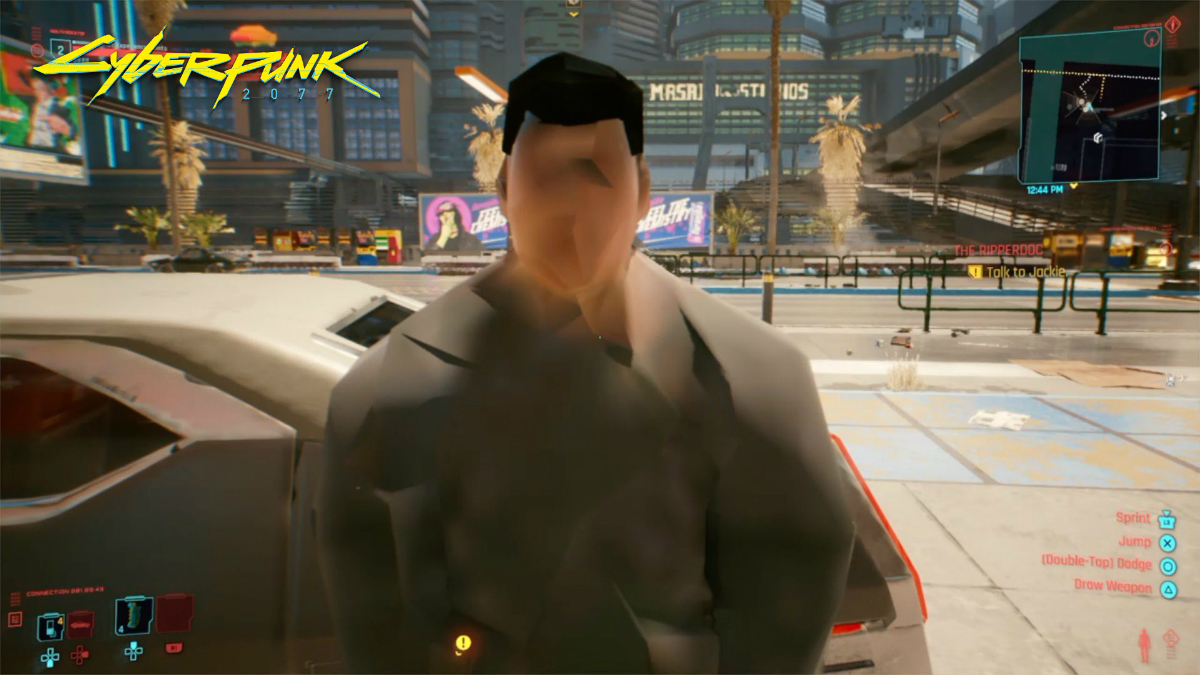 Bad graphics on Cyberpunk 2077