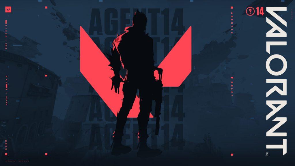 Agent 14 silhouette in Valorant