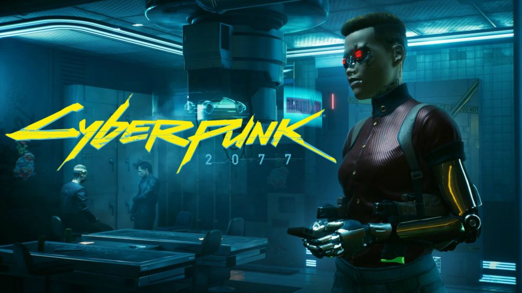 Cyberpunk 2077 with logo