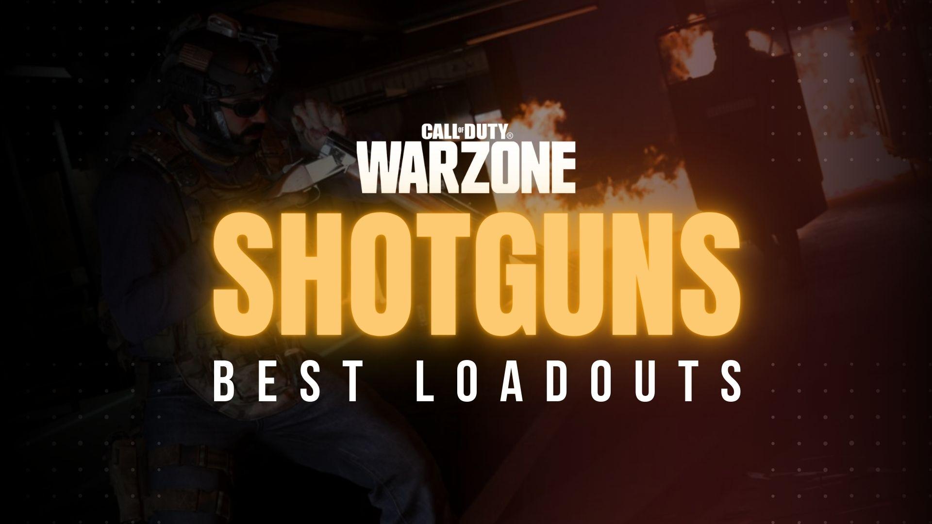 best shotgun loadouts in warzone