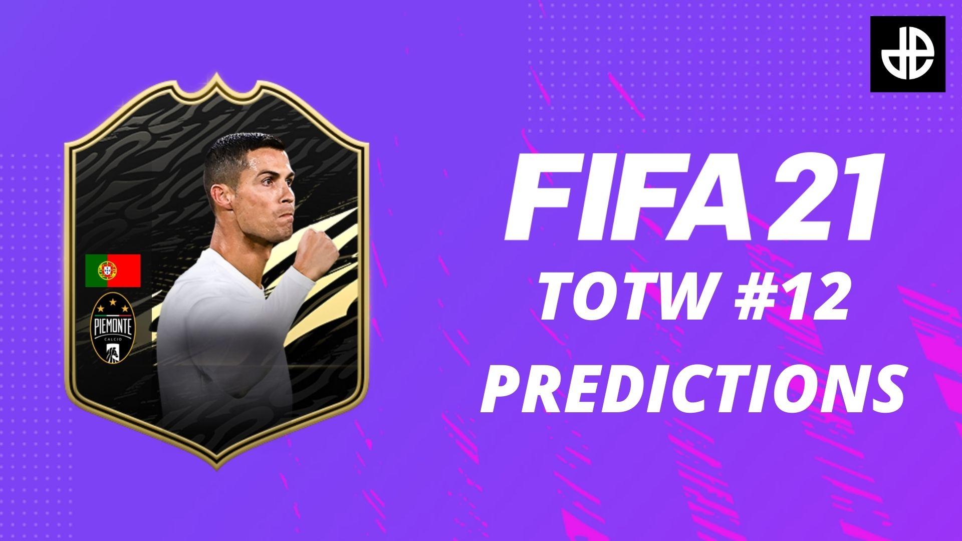 FIFA 21 TOTW 12 predictions with a Ronaldo card