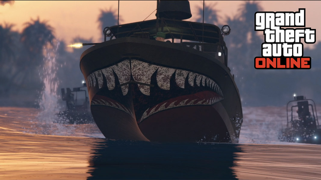 GTA Online kurtz gunboat