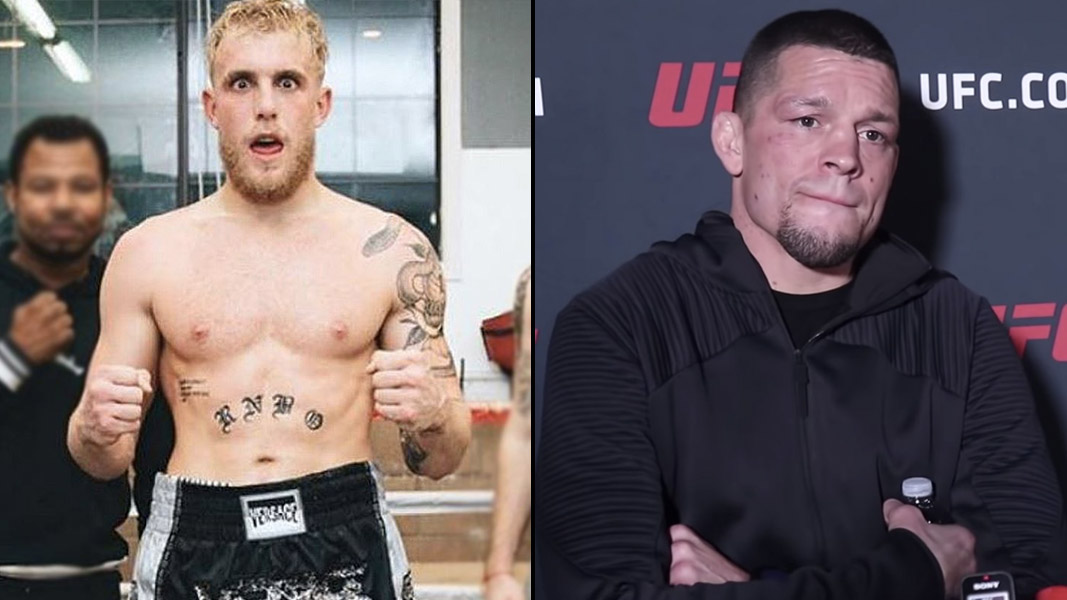 Jake Paul and Nate Diaz