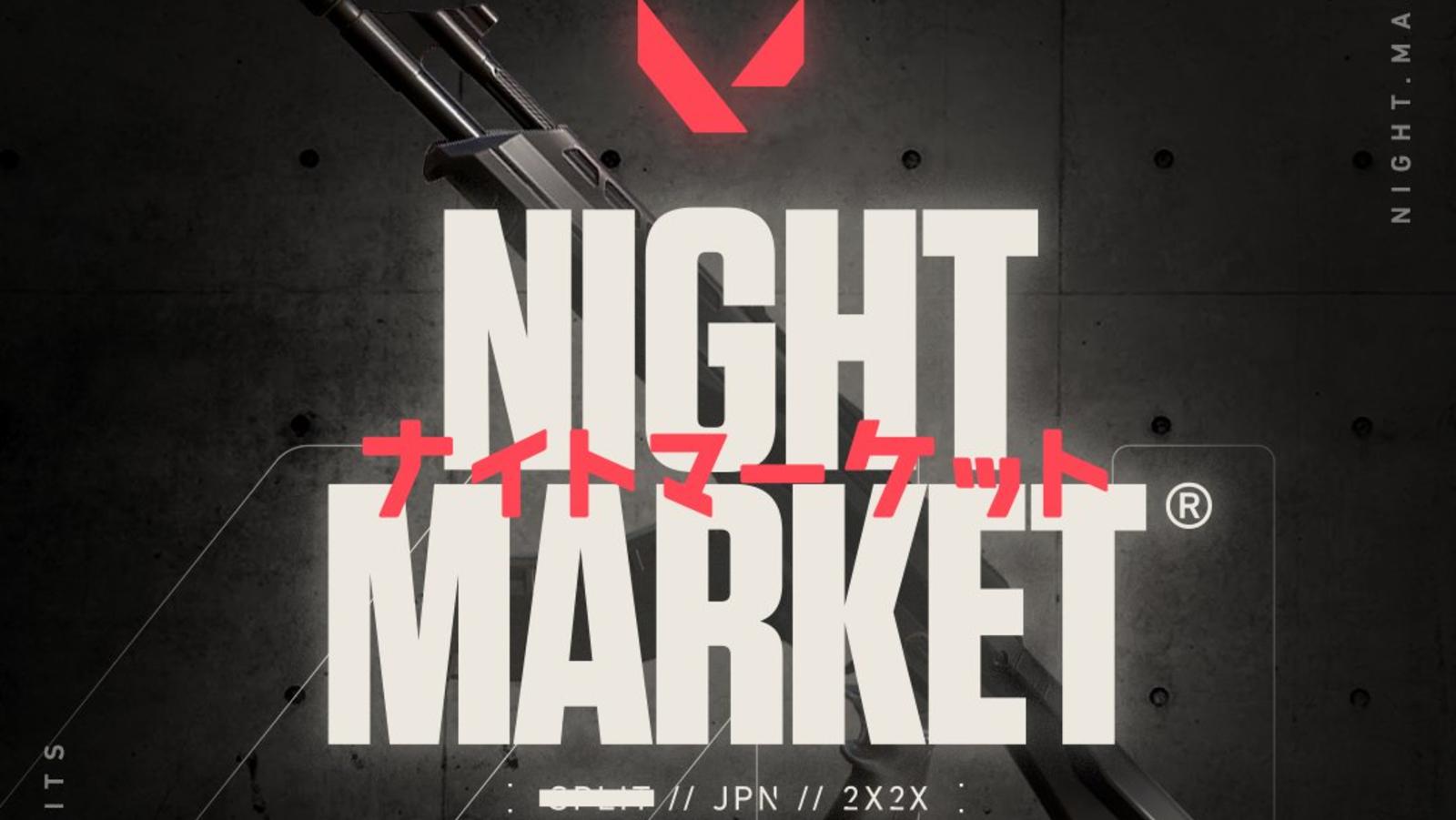 Valorant Night Market Logo