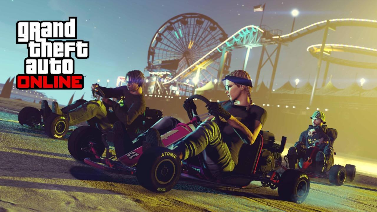 GTA Online Go Kart