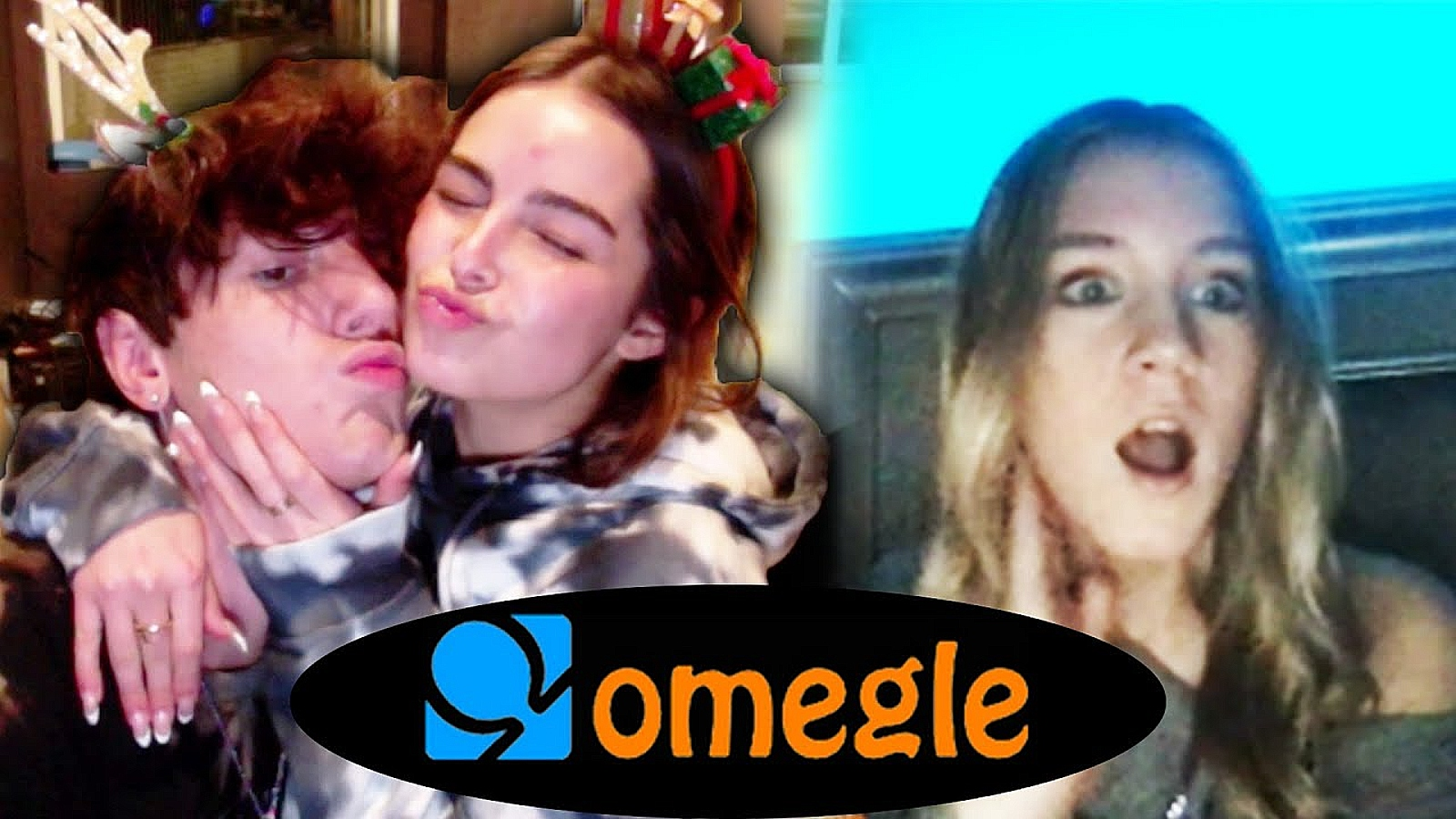 bryce hall and addison rae surprise fans on omegle