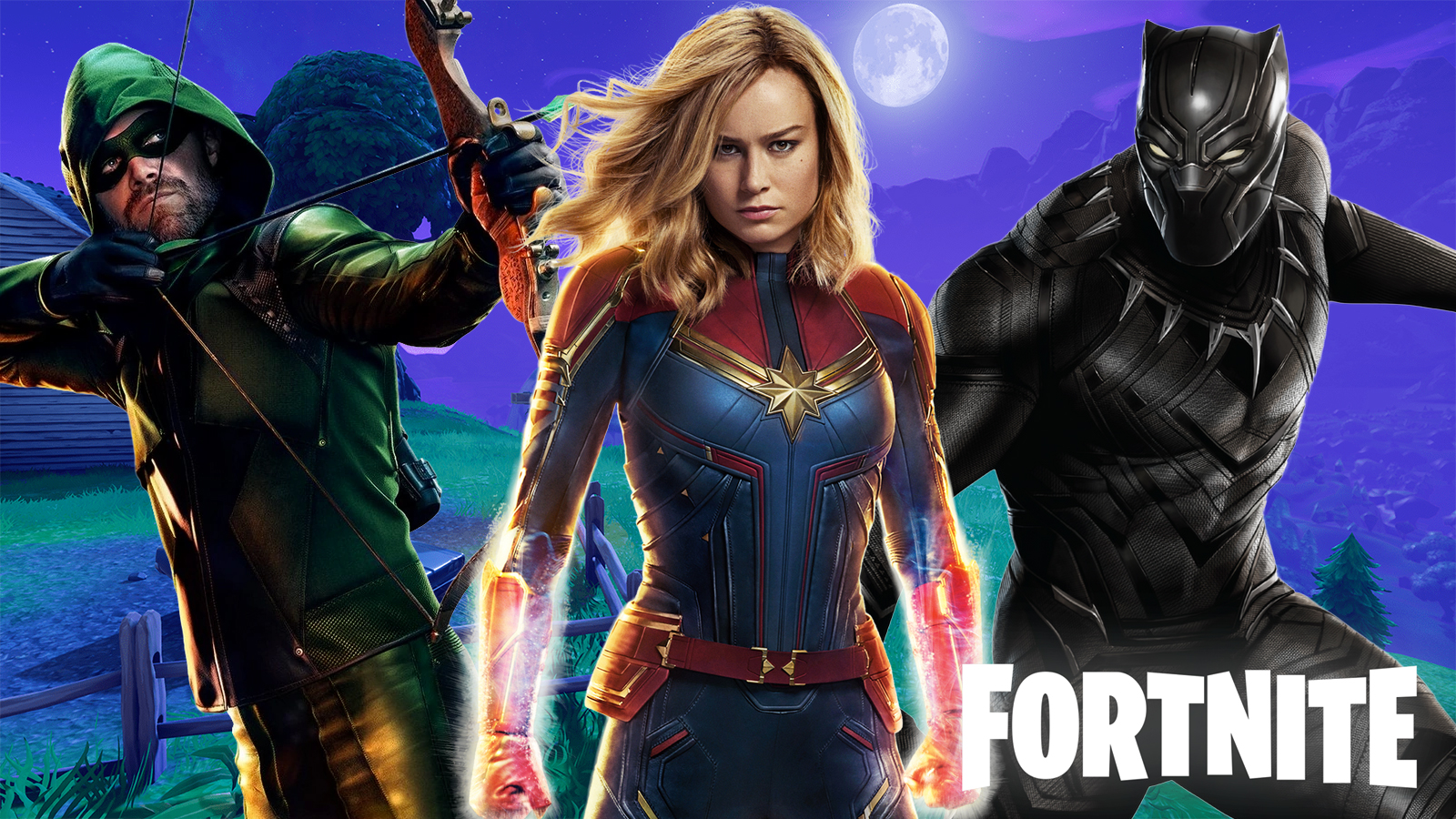 Fortnite Skins Leaked For Black Panther Captain Marvel Green Arrow Dexerto Marvel superhero black panther is finally coming to fortnite season 5, and it looks like he's. fortnite skins leaked for black panther