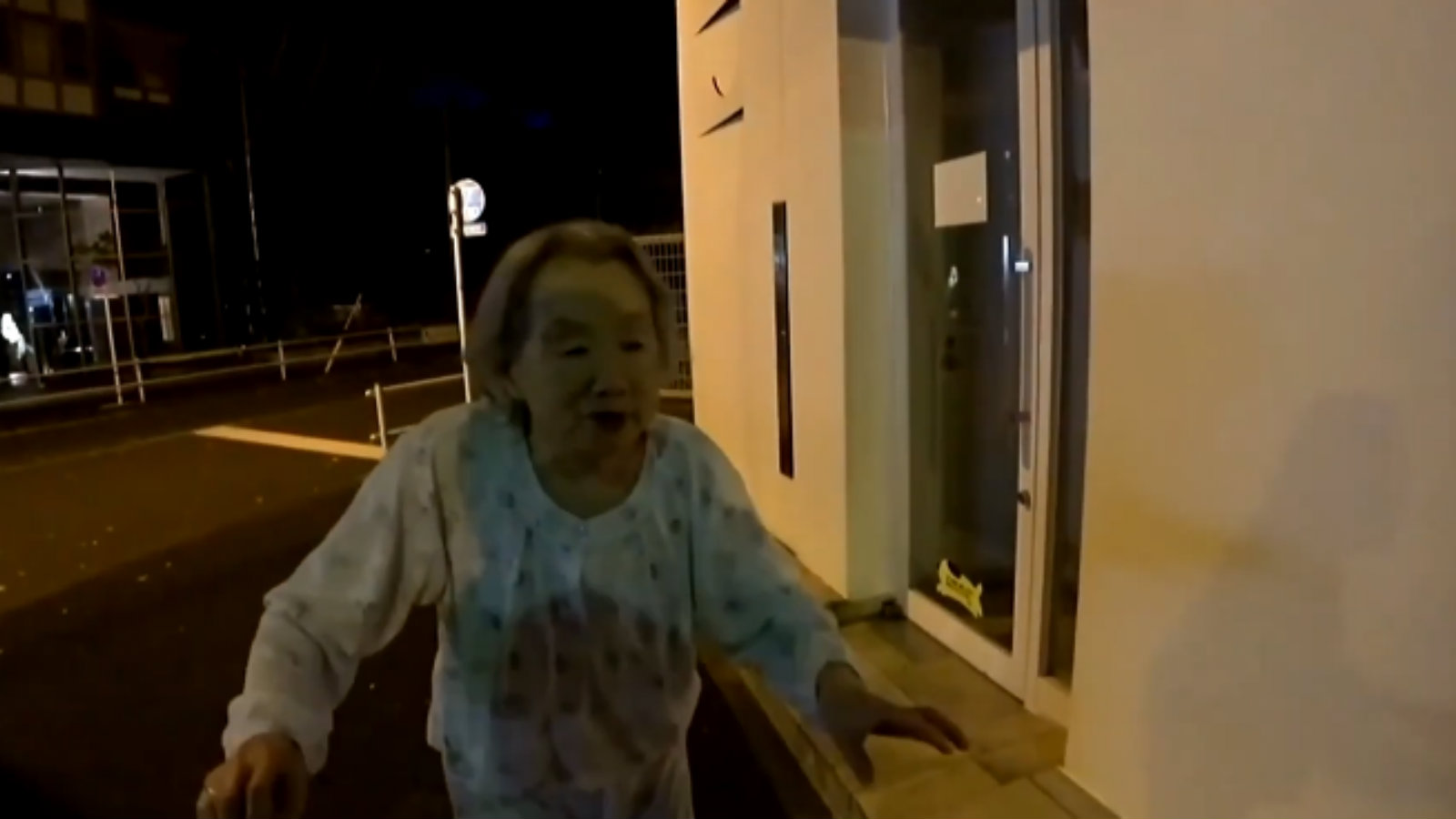Nanpa saves elderly woman