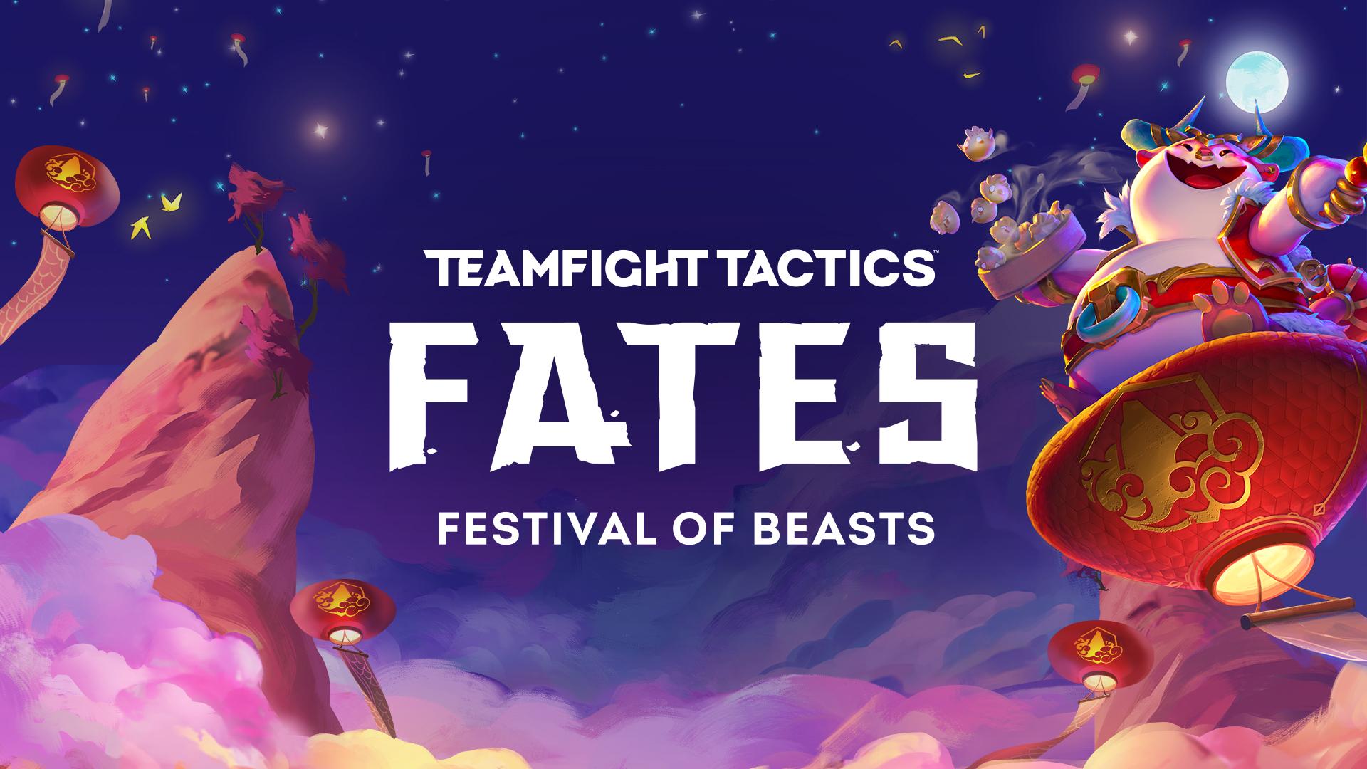 TFT Fates Festival of Beasts header