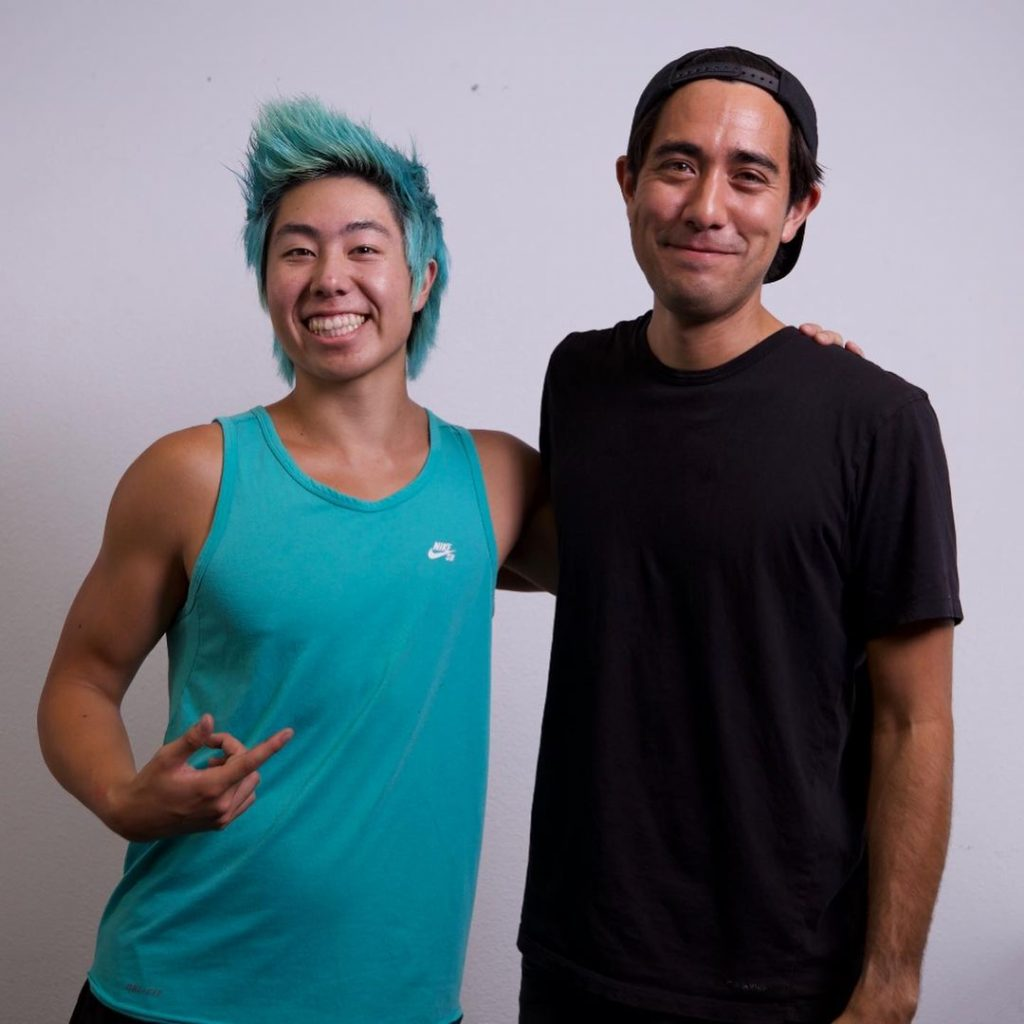 YouTuber ZHC gifts van to Zach King