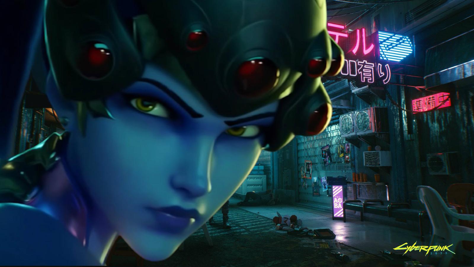 Widowmaker in Cyberpunk