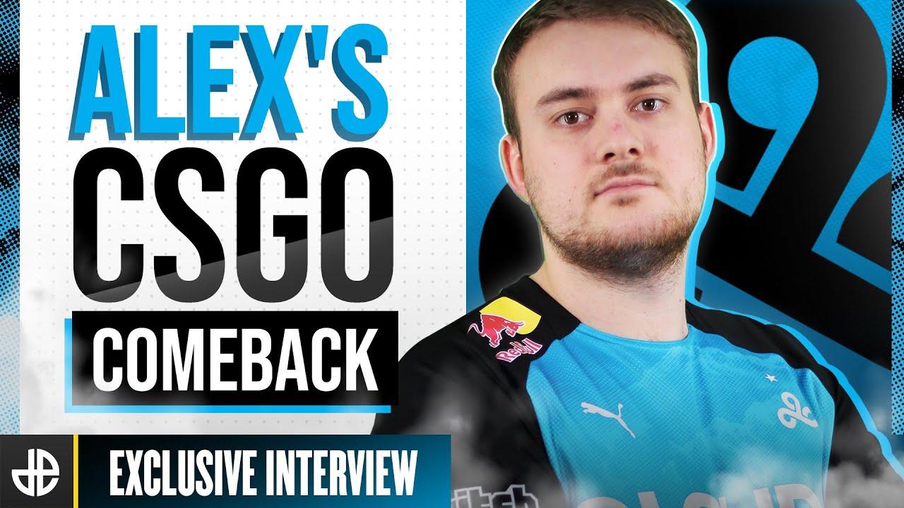 Featured image, Alex's CSGO comeback