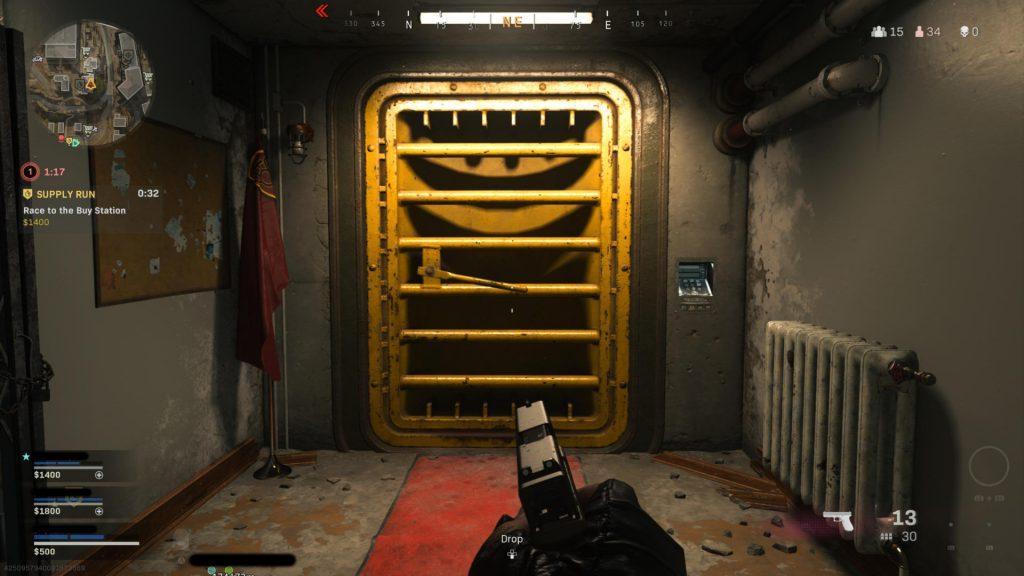 Warzone bunker