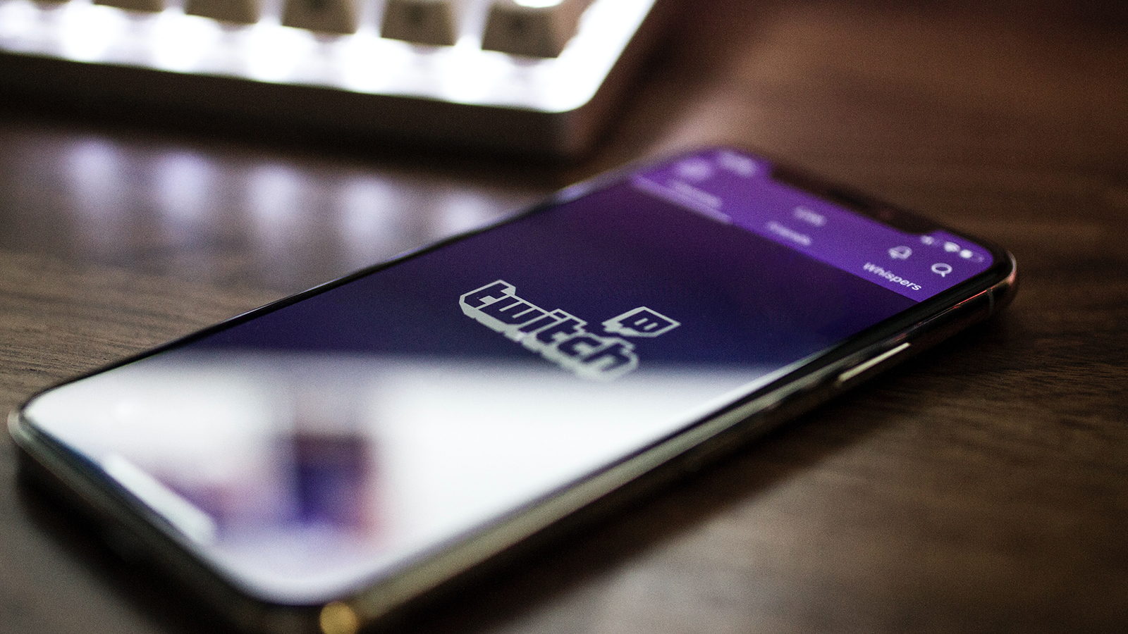 Twitch on mobile phone