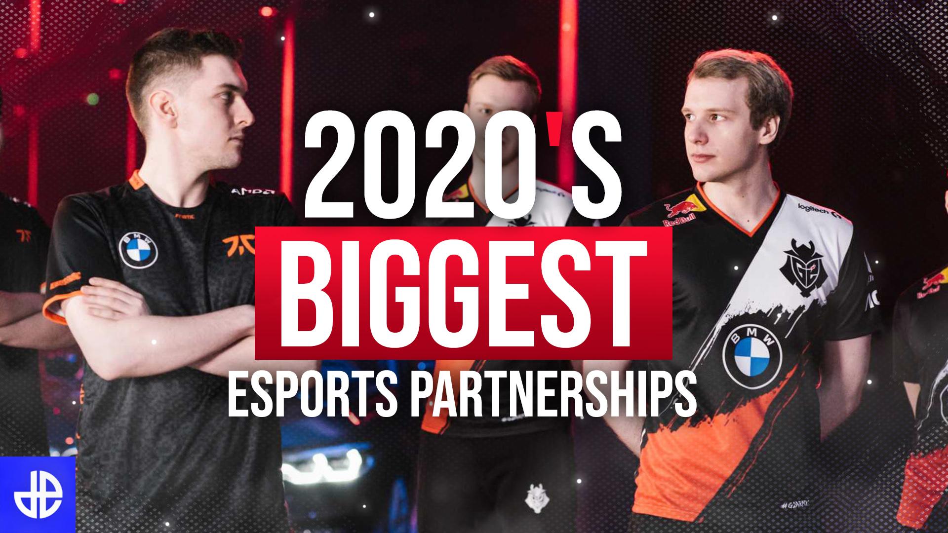 Biggest esports partnerships in 2020