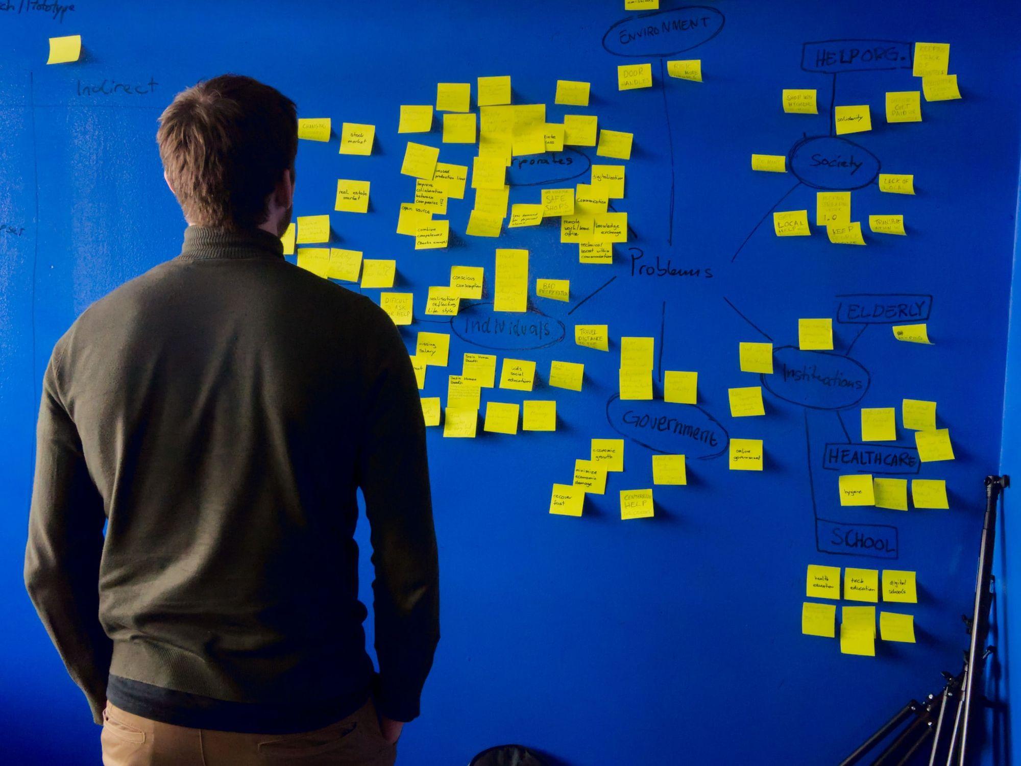 How do you develop innovative ideas?