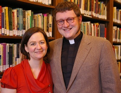 Rev Lucas Grubbs and his wife, Meredith
