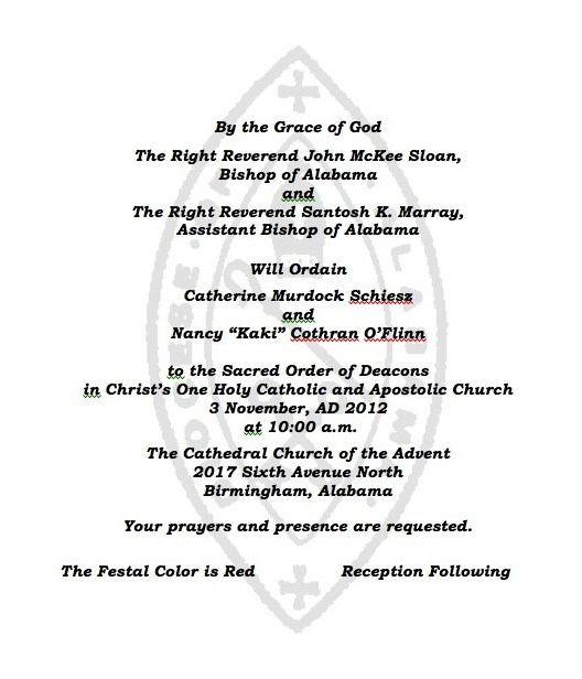 Two The Be Ordained To Sacred Order Of Deacons Nov 3