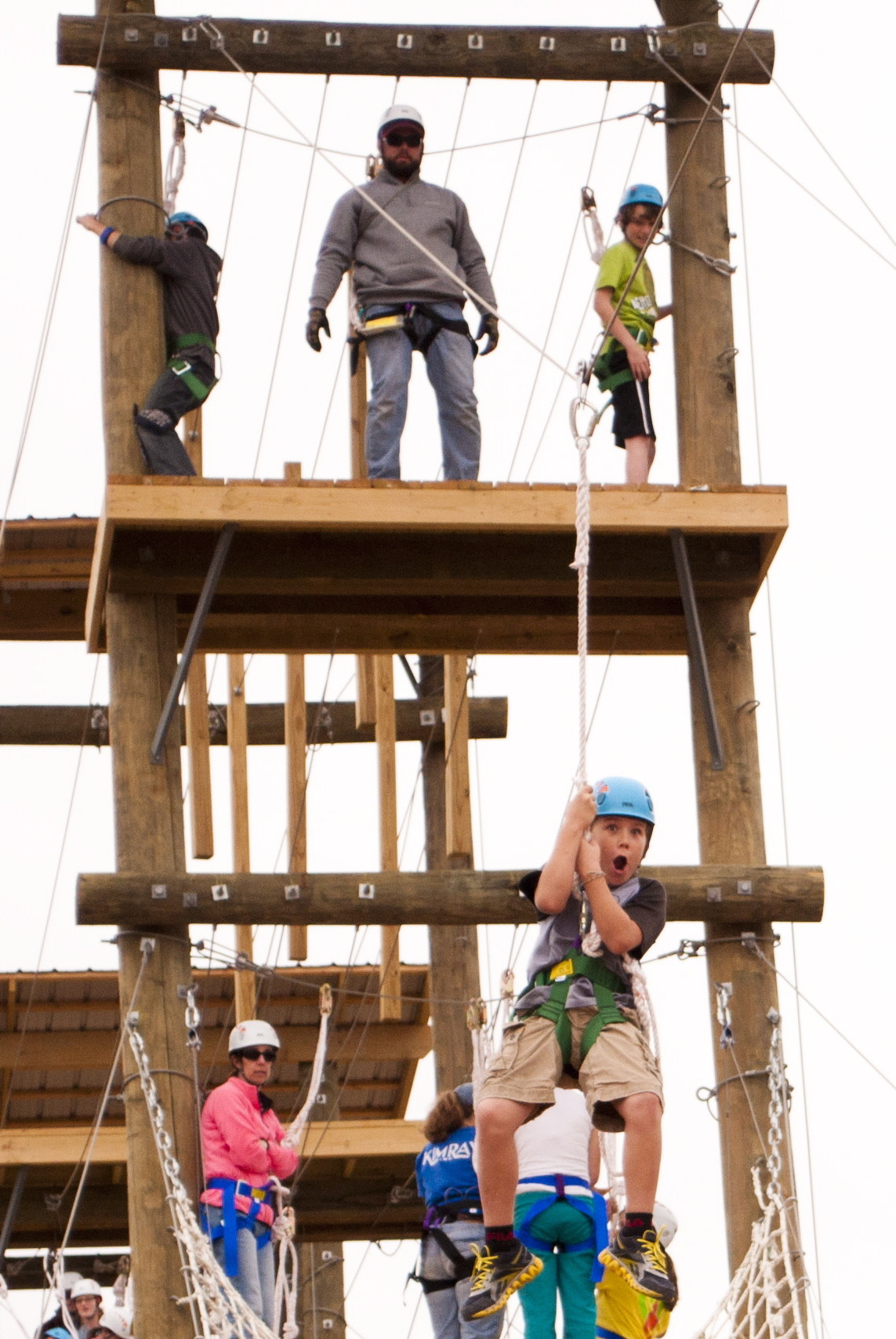 Challenge Course | St Crispin's Conference Center