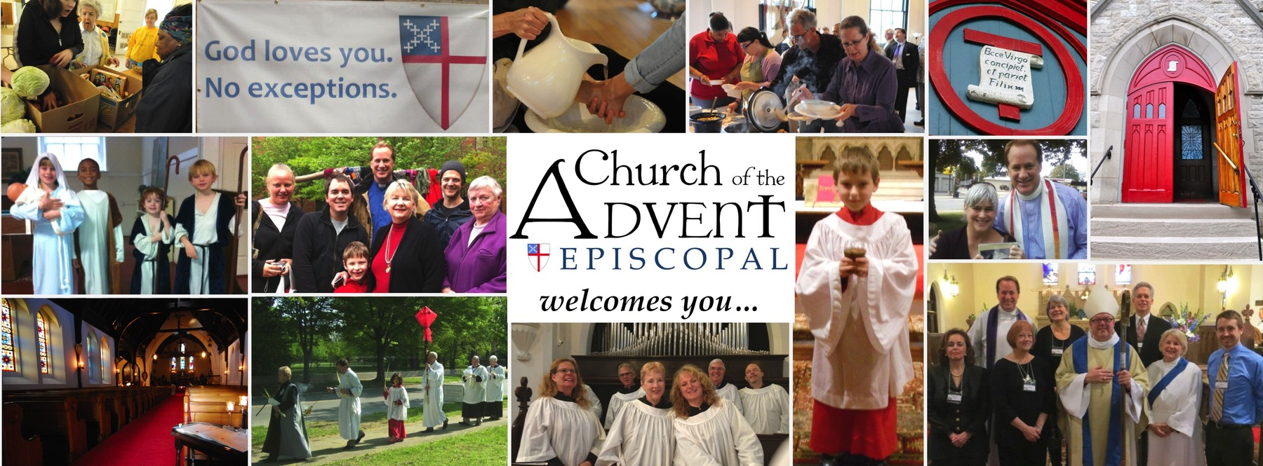 The Church of the Advent Welcomes You!