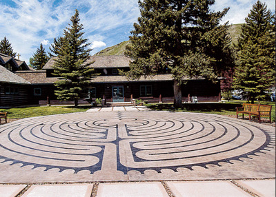St. John's Episcopal Church Labyrinth