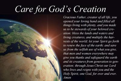 Stewardship of Creation Sunday