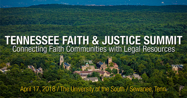 Tennessee faith and justice summit 04 17 2018