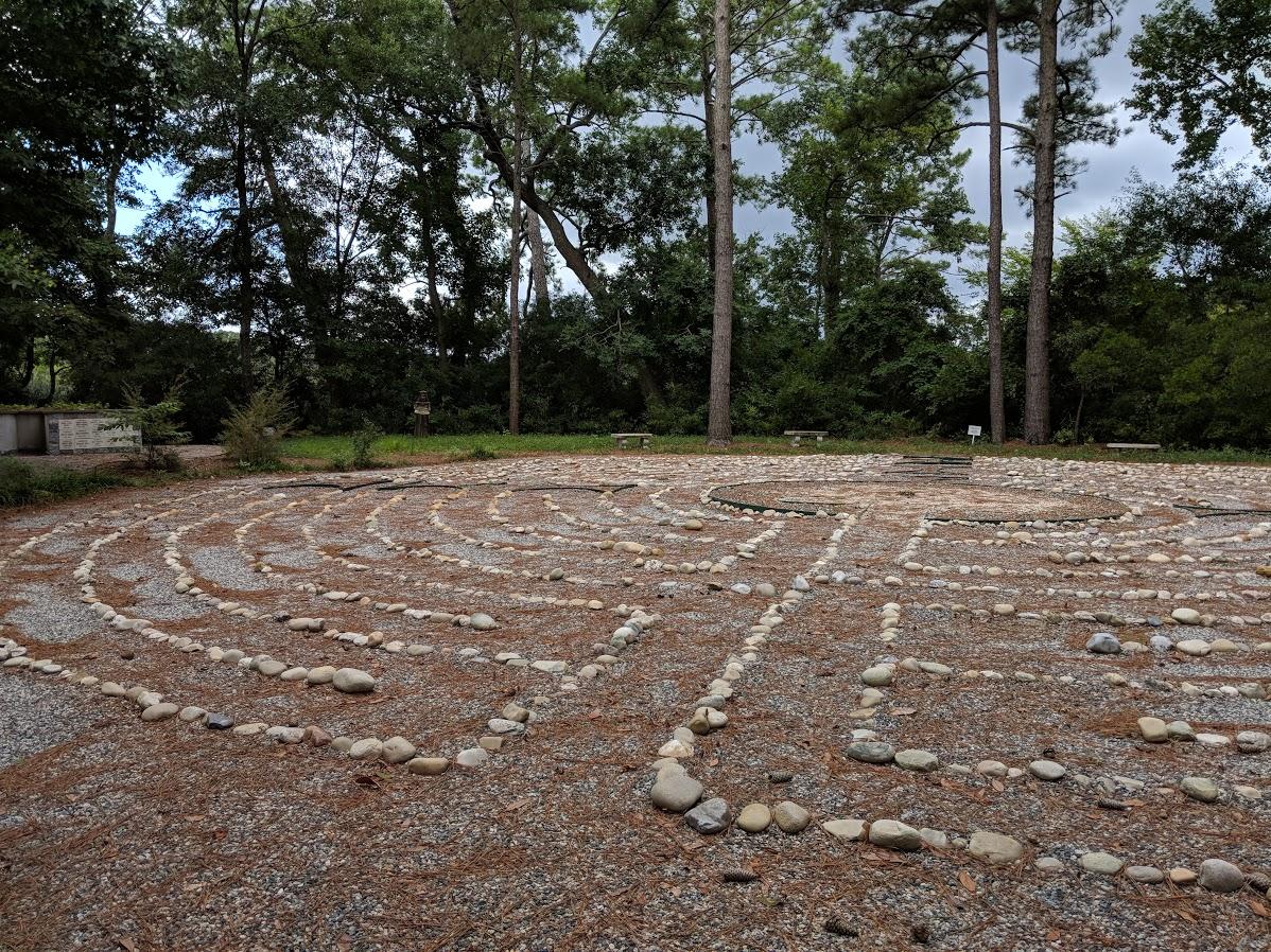 Labyrinth at All Saints'