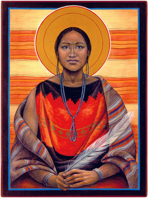 Navajo Madonna by The Rev. John Giuliani