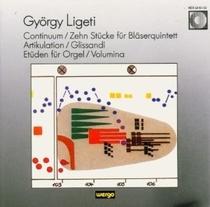 Continuum / 10 Stücke für Bläserquintett / Artikulation / Glissandi / 2 Etüden / Volumina
